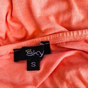 Sky Dresses - Sky Solaris Strapless Tye Dye Maxi Dress